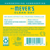 mrs meyers honeysuckle fabric softener back label