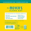 mrs meyers honeysuckle laundry detergent back label