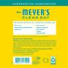 mrs meyers honeysuckle multi surface concentrate back label