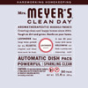 mrs meyers lavender automatic dish packs back label
