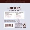 mrs meyers lavender glass cleaner back label