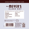 mrs meyers lavender hand lotion back label