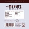 mrs meyers lavender hand lotion back label
