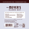 mrs meyers lavender laundry detergent back label