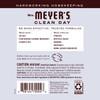 mrs meyers lavender scent booster back label
