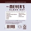 mrs meyers lavender liquid hand soap back label