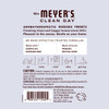 mrs meyers lavender scent sachet back label
