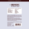mrs meyers lavender surface scrub back label
