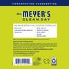 mrs meyers lemon verbena multi surface concentrate back label