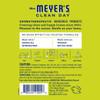 mrs meyers lemon verbena scent sachet back label