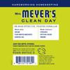 mrs meyers lemon verbena vinegar gel no rinse cleaner back label