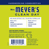 mrs meyers lemon verbena vinegar gel no rinse cleaner back label
