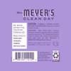 mrs meyers lilac room freshener back label