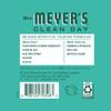 mrs meyers mint liquid hand soap back label