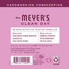 mrs meyers peony laundry detergent back label