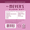 mrs meyers peony liquid hand soap back label