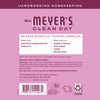 mrs meyers peony multi surface concentrate back label