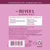 mrs meyers peony multi surface everyday cleaner back label