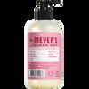 mrs meyers peppermint liquid hand soap back label