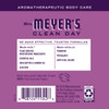 mrs meyers plum berry hand lotion back label