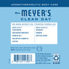 mrs meyers rain water hand lotion back label