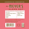 mrs meyers rhubarb liquid hand soap back label