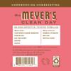 mrs meyers rhubarb liquid hand soap back label