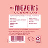 mrs meyers rose liquid hand soap back label