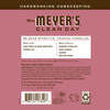 mrs meyers rosemary multi surface concentrate back label