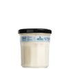 mrs meyers snowdrop soy candle large back label