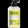 mrs meyers pear tree liquid hand soap back label