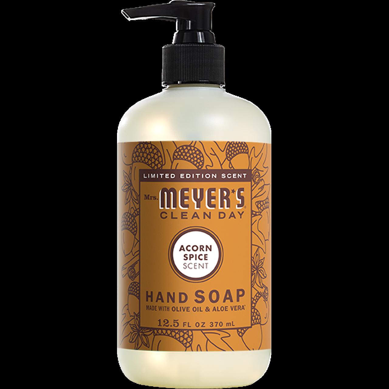 Mrs Meyer S Acorn Spice Liquid Hand Soap