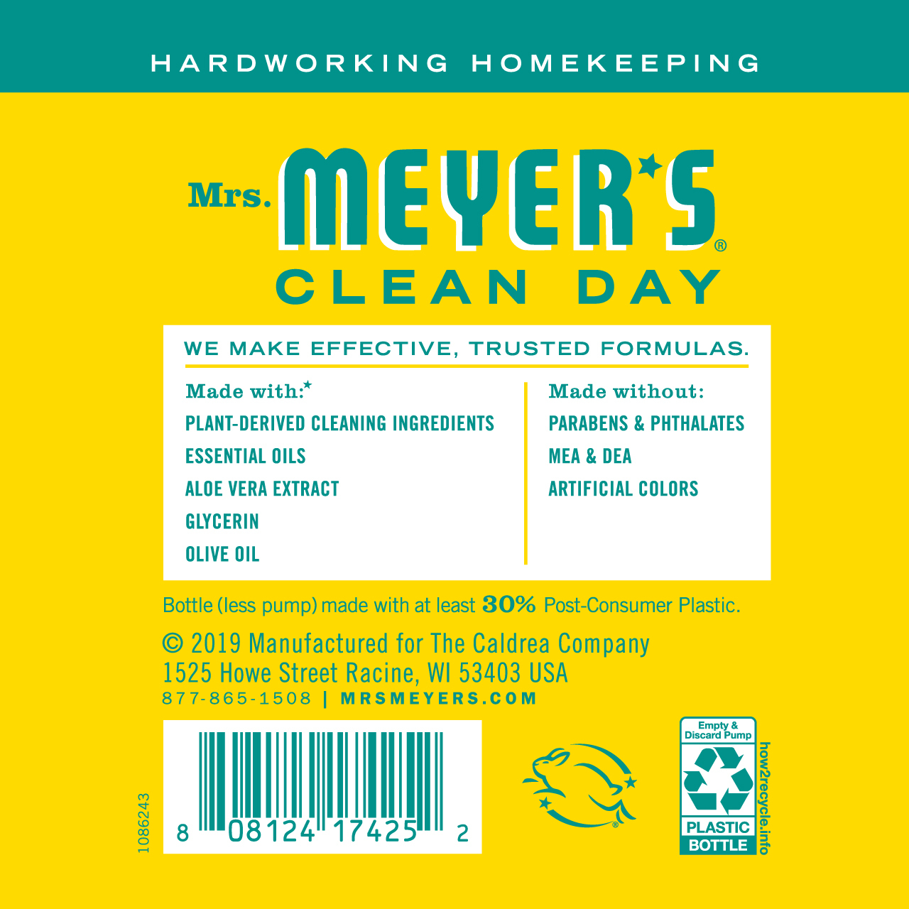 Mrs Meyer S Honeysuckle Liquid Hand Soap