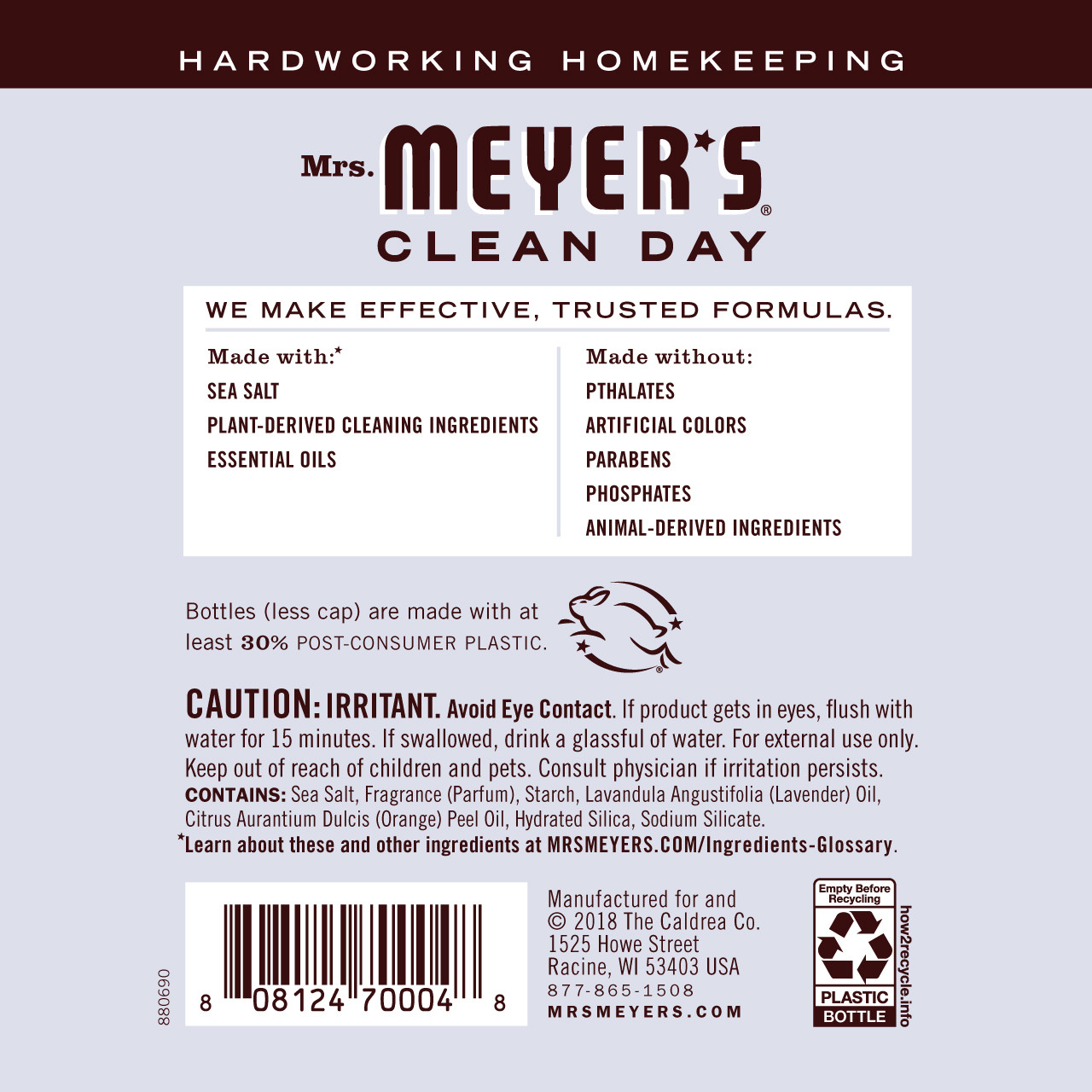 Mrs Meyer S Lavender Laundry Scent Booster