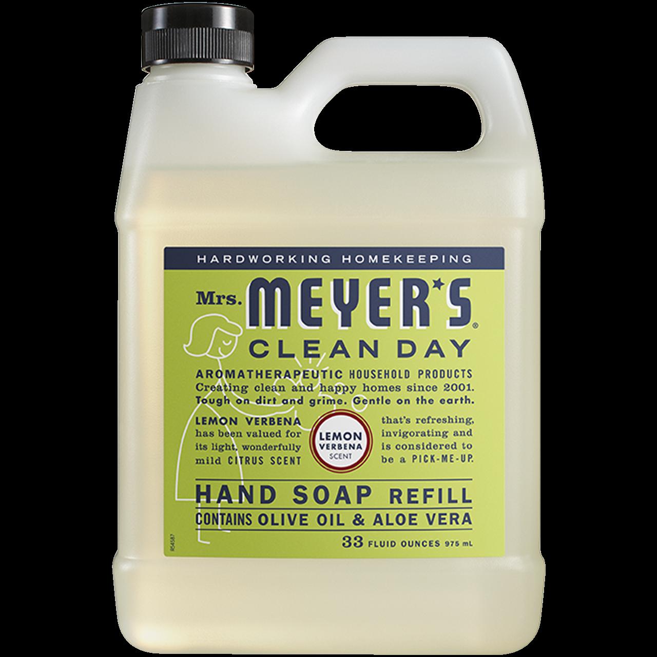 Mrs Meyer S Lemon Verbena Liquid Hand Soap Refill