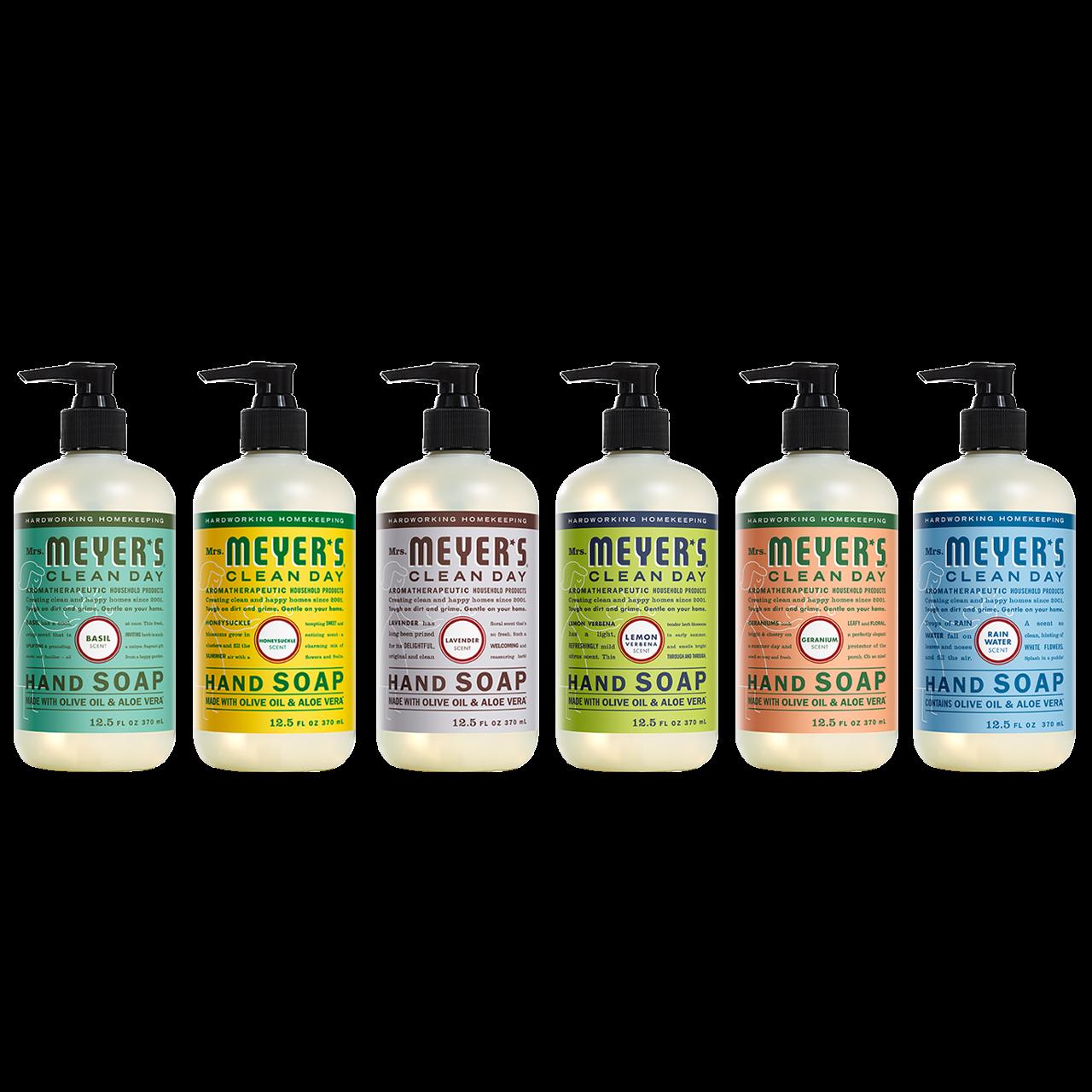 Mrs Meyer S Liquid Hand Soap Variety Pack