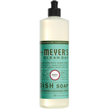 mrs meyers basil dish soap