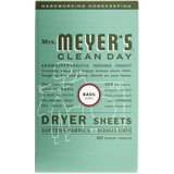 mrs meyers basil dryer sheets