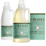 mrs meyers basil laundry set