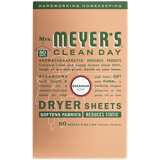 mrs meyers geranium dryer sheets