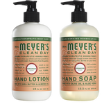 mrs meyers geranium hand care basics set