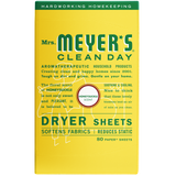 mrs meyers honeysuckle dryer sheets