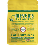 mrs meyers honeysuckle laundry packs