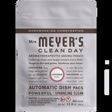 mrs meyers lavender automatic dish packs