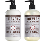 mrs meyers lavender hand care basics set