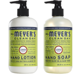 mrs meyers lemon verbena hand care basics set
