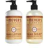 mrs meyers oat blossom hand care basics set