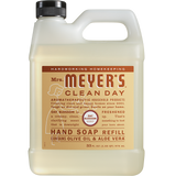 mrs meyers oat blossom liquid hand soap refill