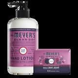 mrs meyers plum berry bar soap & hand lotion set