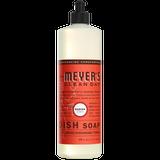 mrs meyers radish dish soap